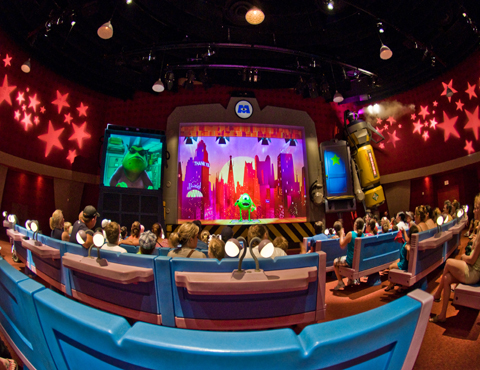 Monsters Inc Laugh Floor Magic Kingdom