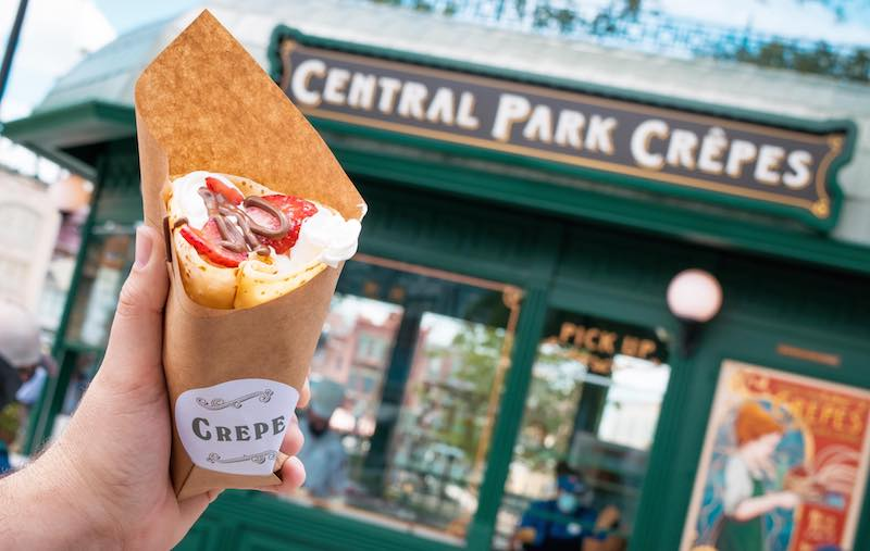 Central Park Crepes