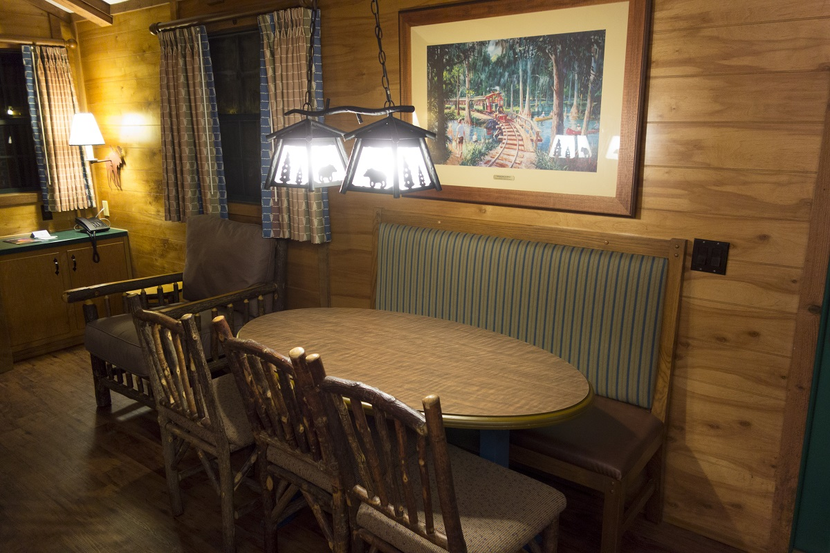 The Cabins At Disneys Fort Wilderness Resort Room Light Is Able To Open By Claping Hands With Improved Circuit 1 107